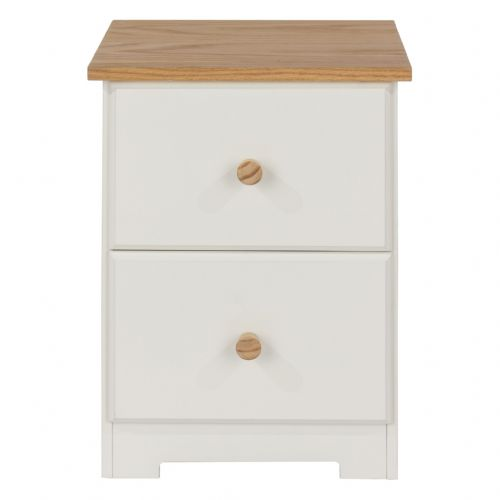 Colorado Petite 2 Drawer Bedside